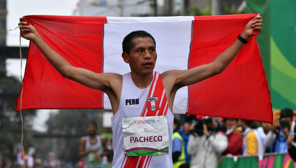 Cristhian Pacheco logró la segunda medalla de oro para Perú en los Panamericanos del 2019. (AFP)