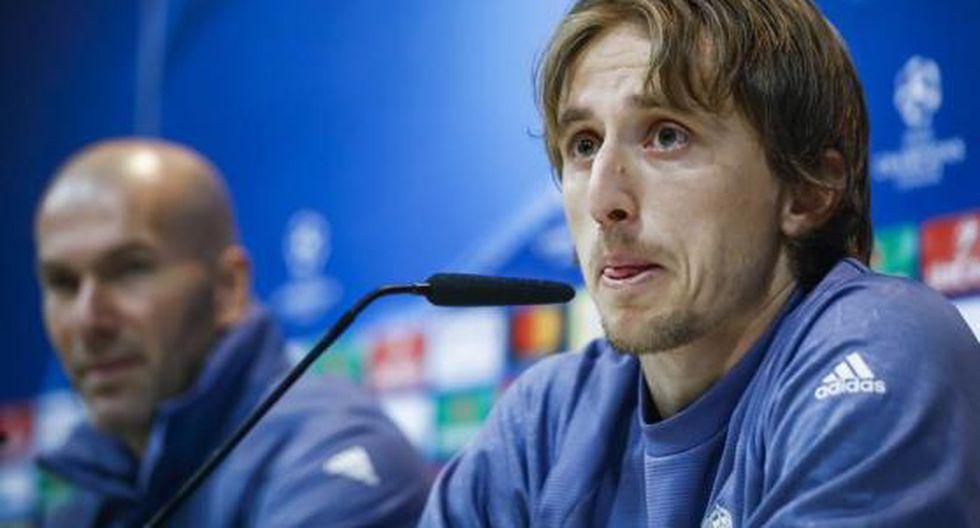 """Modric: """"Cuando el árbitro nos perjudica nadie se da cuenta"""""""