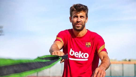 Piqué tiene contrato con el Barcelona hasta mediados del 2022. (Foto: Agencias)