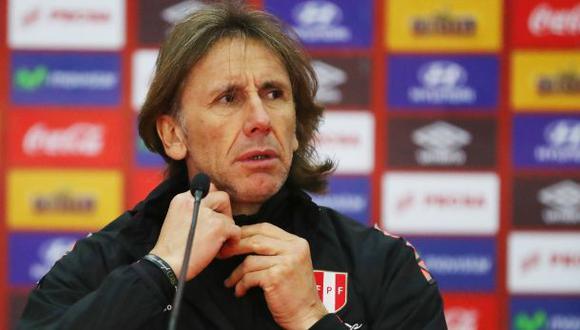 Ricardo Gareca está preocupado por la inactividad de los futbolistas convocables, sobre todo si se confirma que las Eliminatorias arrancarán en menos de cuatro meses. (Foto: GEC)