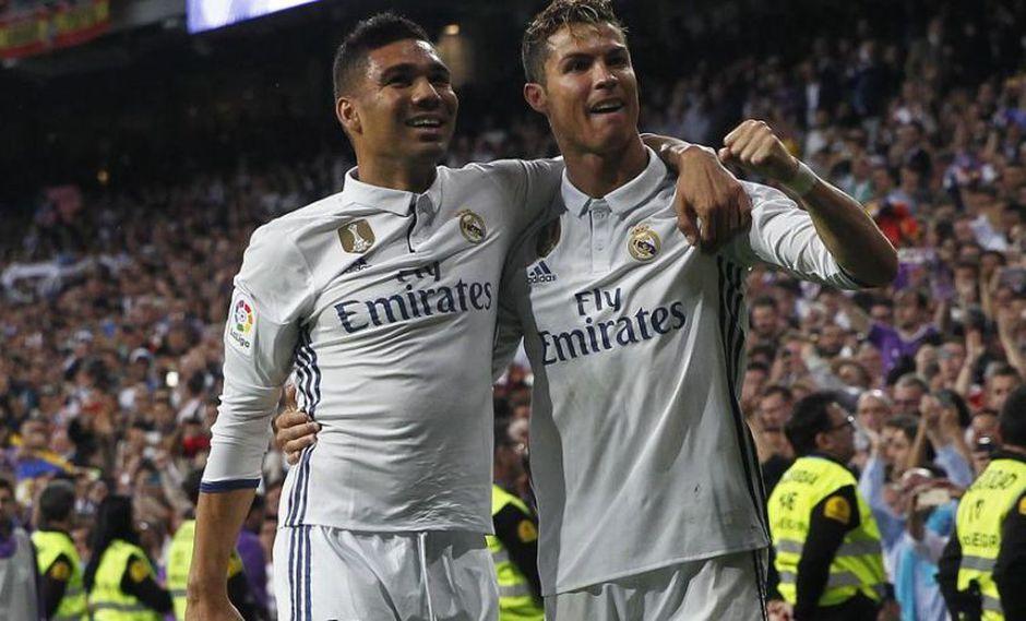 Casemiro fue uno de los puntos altos del Real Madrid 3-0 Roma por la jornada de estreno de la Champions League. El volante escogió entre Cristiano Ronaldo y Luka Modric para el Balón de Oro (Foto: agencias)