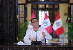 Martín Vizcarra ofrecerá pronunciamiento en el día 194 del estado de emergencia por coronavirus