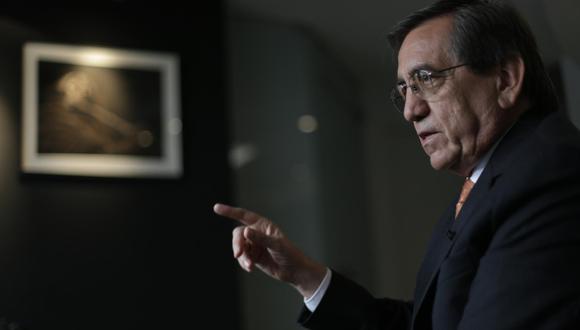 """Jorge Del Castillo opinó que Vizcarra """"está haciendo gala de una demagogia que no he visto hace mucho tiempo"""". (Foto: El Comercio)"""