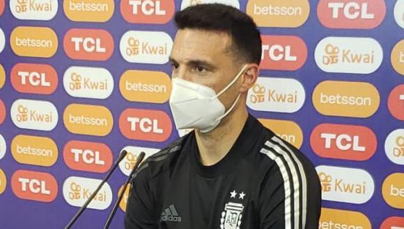 Lionel Scaloni analizó la situación de la selección argentina. (Foto: Argentina)