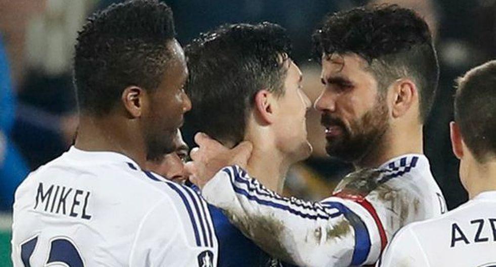 Diego Costa negó haber mordido a futbolista del Everton