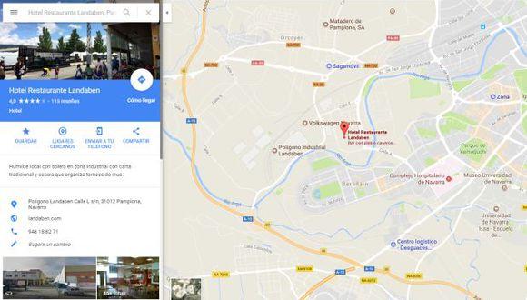 """""""El humor es la mejor forma de enfrentarse a la indefensión de las reseñas falsas"""", dice el dueño del local. (Foto: captura Google Maps)"""