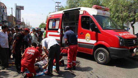 La Libertad: accidentes de tránsito dejan dos muertos