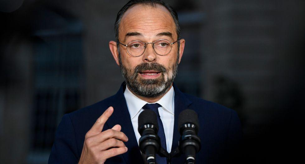Francia se encuentra inmersa en un segundo día consecutivo de huelgas contra una reforma del sistema de pensiones que tiene paralizado a gran parte del transporte público, sobre todo en París. En la imagen, el primer ministro Edouard Philippe. (Foto: AFP)