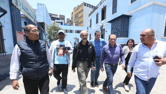 Mauricio Mulder, integrante del Parlamento disuelto, encabeza la lista de postulantes del Partido Aprista por Lima. (Foto: Violeta Ayasta)