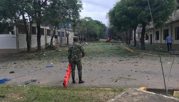 Aunque en los últimos años las unidades militares han sido blanco de ataques en Cúcuta, esta guerrilla no había logrado ingresar a una base del Ejército de una ciudad principal burlando su seguridad por horas. (Foto: El Tiempo de Colombia / GDA)