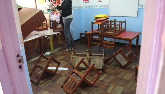 Delincuentes asaltan nido en San Juan de Lurigancho