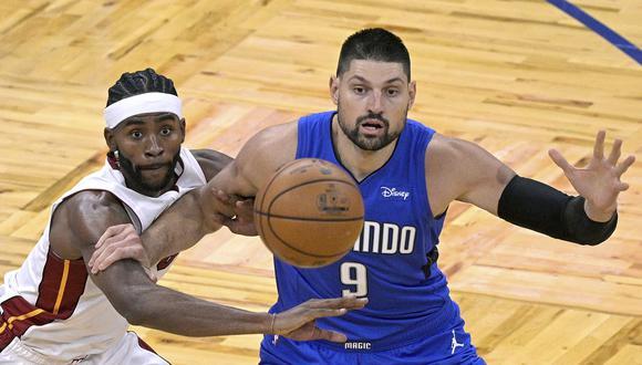 Nikola Vucevic conversó con El Comercio sobre los estadios vacíos en la NBA | Foto: AP