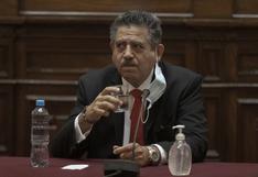 Manuel Merino y las imprecisiones de sus recientes declaraciones