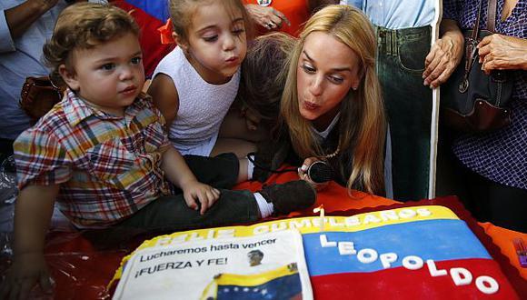 Leopoldo López no pudo recibir visitas el día de su cumpleaños