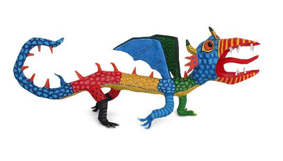 Pedro Linares a sus 12 años, se había convertido en un hábil artesano de artículos de papel maché como piñatas y las tradicionales figuras esqueléticas llamadas calaveras que se presentan en la celebración anual del Día de Muertos. (Foto: captura|Google)