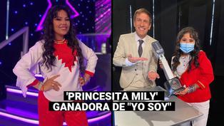 """""""Yo Soy"""": imitadora de la 'Princesita Mily' se coronó como la ganadora de la temporada 30"""