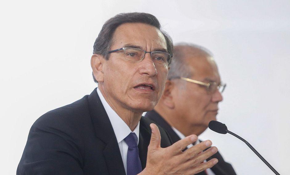 El presidente Martín Vizcarra participa en la inauguración del UNI Ejecutivo el pasado 8 de agosto. (Foto: Sepres).