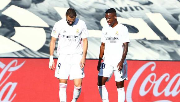 Vinicius Junior habló sobre el episodio polémica con Karim Benzema. (Foto: Reuters)