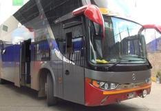 Huancavelica: asaltan bus interprovincial y dos autos en paraje Huayllacruz