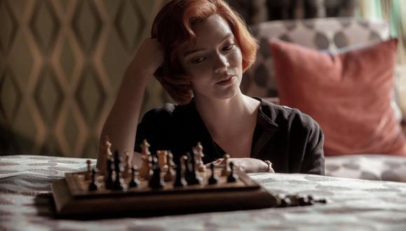 """En """"Gambito de dama"""", Anya Taylor-Joy protagoniza las vivencias de una jugadora de ajedrez. (Foto: Netflix)."""