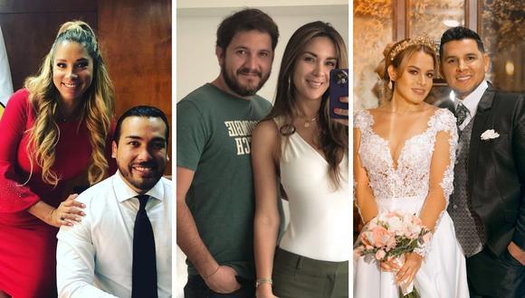 Silvia Cornejo, Florcita Polo, Angie Arizaga son algunas de las mujeres que decidieron darse una segunda oportunidad tras polémicas rupturas amorosas. (Composición: Instagram)