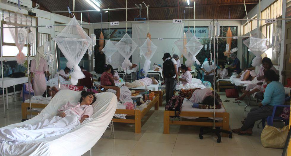 Así luce el Hospital Santa Rosa. (Foto: Manuel Calloquispe)