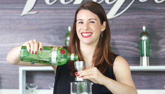 Desde el 2015, Stephanie Jordan es embajadora global de Tanqueray, una de las marcas de ginebra más antiguas. (Foto: El Comercio/Juan Ponce)
