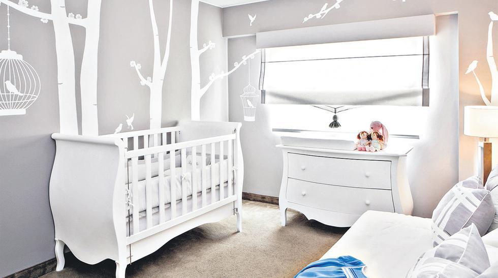 Decora usando color gris en el cuarto de los niños - 1