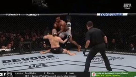 UFC Fight Night Phoenix :  Caín Velásquez vs. Francis Ngannou se enfrentaron en el evento estelar. El mexicano perdió en 26 segundo. Repasa todos los resultados del evento. (Foto: UFC).