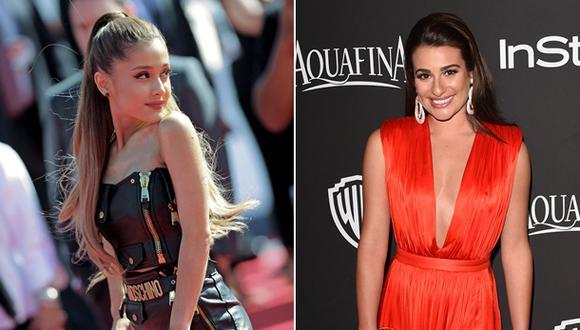 Ariana Grande y Lea Michele se unirán en nueva serie de TV
