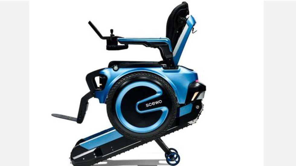 ¿Lograra su diseño cambiar definitivamente la estructura de las sillas de ruedas en el mundo? (Foto: Scewo)