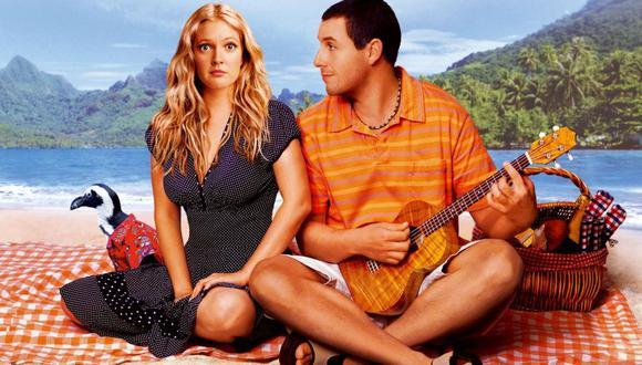 """Adam Sandler y Drew Barrymore protagonizaron la película """"Como si fuera la primera vez"""" en 2004. (Foto: Columbia Pictures)"""