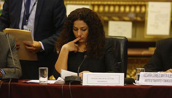 PJ verá situación de la familia de congresista Cecilia Chacón