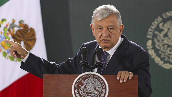 Andrés Manuel López Obrador informó  que cada semana se realiza una prueba de coronavirus. (Foto: HERIKA MARTINEZ / AFP)