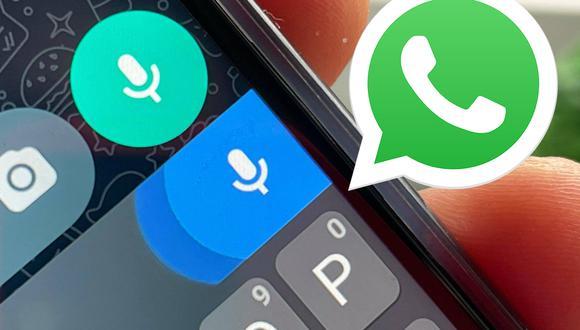 De esta manera podrás mandar un mensaje de WhatsApp sin tener que escribir. (Foto: MAG)