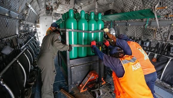 Ica: Minsa envía 98 balones de oxígeno para abastecer hospitales durante protesta agraria. (Foto: Minsa)