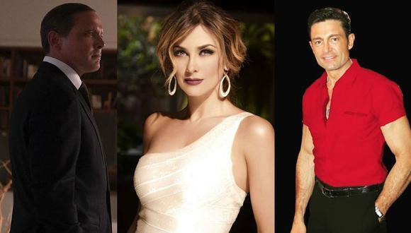 ¿Será que el romance entre Luis Miguel y Aracely Arámbula inicio cuando ella aún salía con Fernando Colunga? (Fotos: Instagram/ Facebook)
