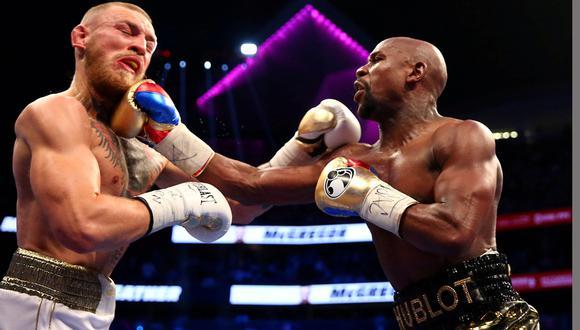 Floyd Mayweather y Conor McGregor pelearon en Las Vegas en agosto de 2017. (Foto: Reuters)