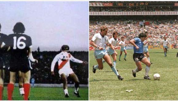 El ex mundialista peruano Teófilo Cubillas está nominado a mejor gol en la historia de los Mundiales y entró a la disputa con el anotado por Diego Armando Maradona. (Foto: agencias)