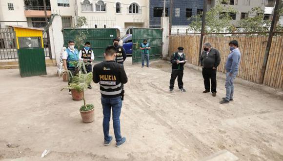 La inspección de la fiscalía fue realizada el viernes 25. Un fotógrafo de El Comercio fue testigo de la diligencia. (Foto: Anthony Niño de Guzmán/GEC)