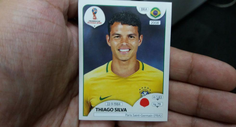 Thiago Silva. (Foto: Panini)