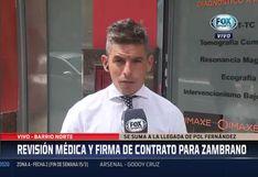Carlos Zambrano: periodista argentino calificó de 'poco alentador' el presente del nuevo jugador de Boca Juniors | VIDEO