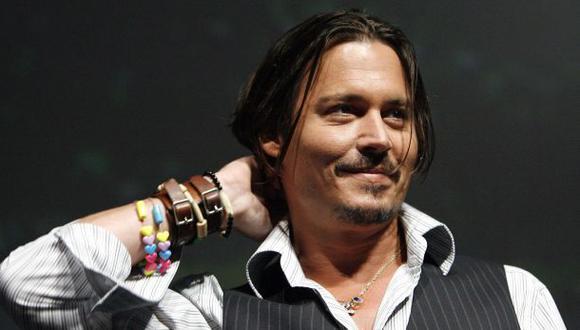 Johnny Depp dará conciertos con Joe Perry y Alice Cooper