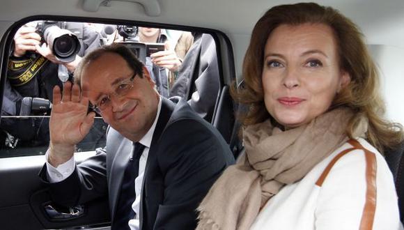 Francia: Pareja de Hollande quiere una salida digna