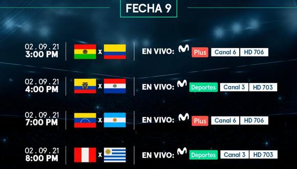 Movistar Deportes te llevará en vivo y en directo los partidos de las Eliminatorias y aquí te llevamos la programación completa. FOTO: Movistar Deportes.