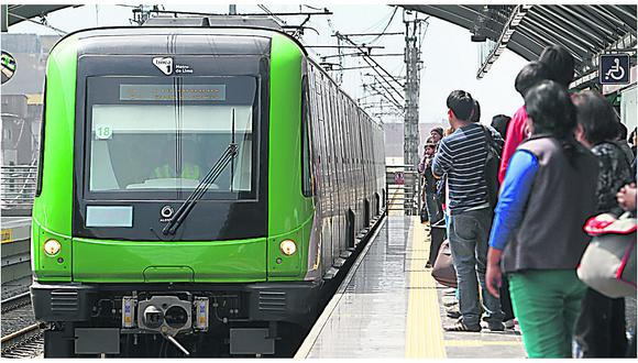 Línea 1 del Metro de Lima extiende su horario de atención al público. (GEC)