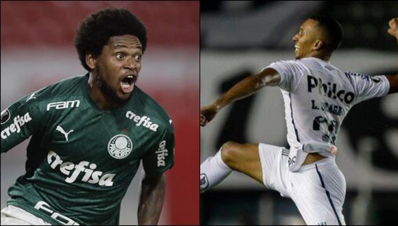 Palmeiras y Santos jugarán la final de la Libertadores tras eliminar a River y Boca, respectivamente. (Fotos: AFP)