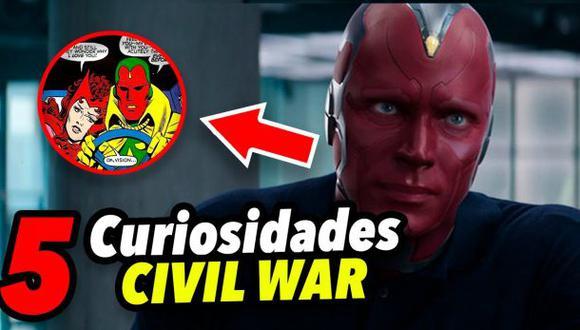 """""""Capitán América: Civil War"""" y 5 datos que seguro no conocías"""