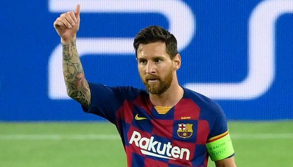 Lionel Messi dona respiradores mecánicos a Rosario para  la lucha contra coronavirus. (Foto: LLUIS GENE / AFP)
