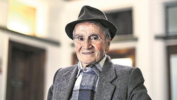 El actor Carlos Gassols cumplirá 91 años en noviembre.